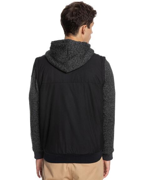 BLACK MENS CLOTHING QUIKSILVER JACKETS - EQYJK03650-KVJ0