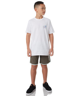 WHITE KIDS BOYS HURLEY TEES - AO2238100