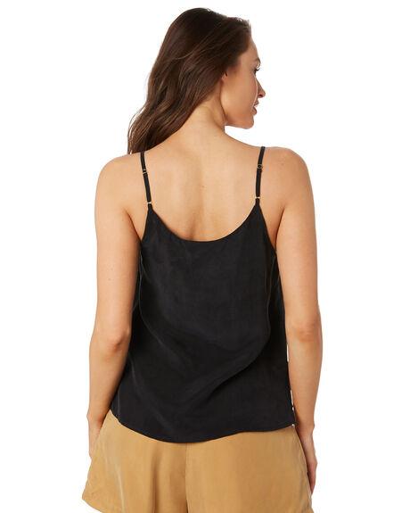 ONYX BLACK WOMENS CLOTHING SANCIA FASHION TOPS - 808ABLK