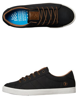 BLACK BROWN MENS FOOTWEAR KUSTOM SNEAKERS - 4981117FBKBRN