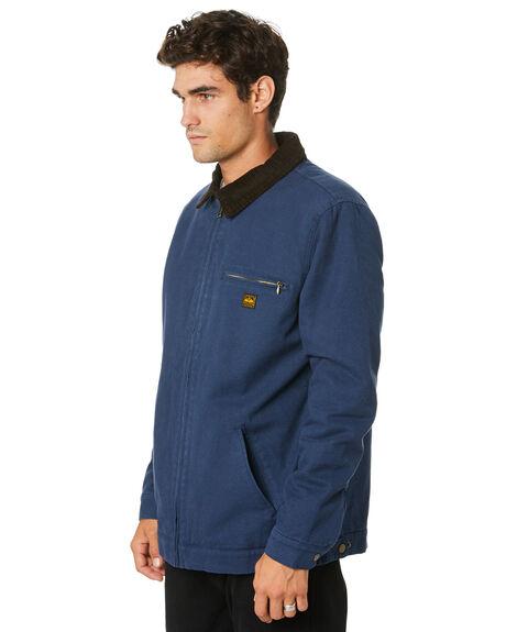 NAVY MENS CLOTHING DEPACTUS JACKETS - D5194384NAVY