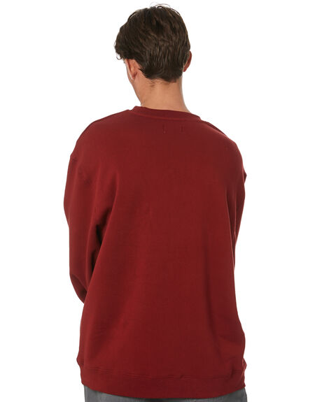 DUSTY RED MENS CLOTHING XLARGE JUMPERS - XL013201DTRED