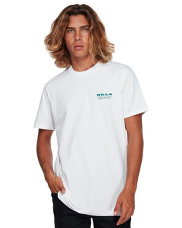WHITE MENS CLOTHING BILLABONG TEES - BB-9591005-WHT