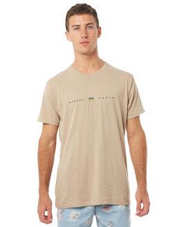 OATMEAL MARLE MENS CLOTHING BARNEY COOLS TEES - 114-MC3IOAT