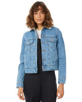 INDIGO WOMENS CLOTHING ELWOOD JACKETS - W81509343