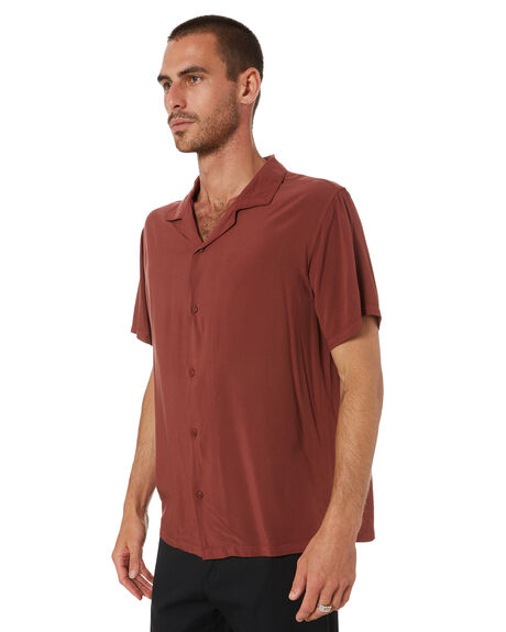 SEQUOIA BROWN MENS CLOTHING SWELL SHIRTS - S5194166SEQ