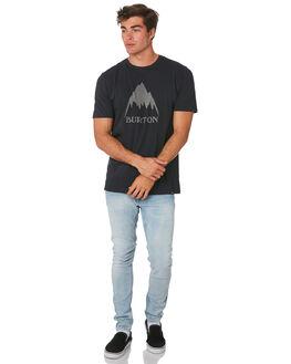 TRUE BLACK MENS CLOTHING BURTON TEES - 203771001