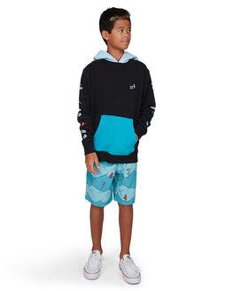 BLACK KIDS BOYS BILLABONG JUMPERS + JACKETS - BB-8503680-BLK