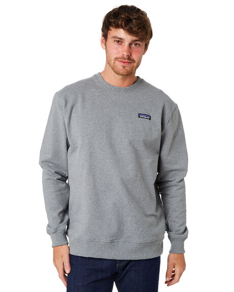 GRAVEL HEATHER MENS CLOTHING PATAGONIA JUMPERS - 39543GLH