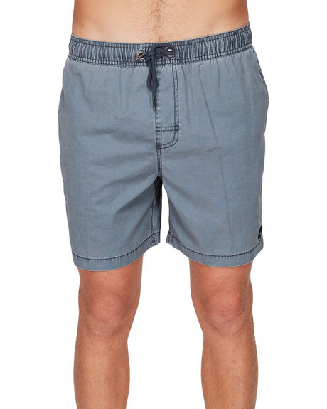 OIL GREY MENS CLOTHING RVCA SHORTS - R191311OIL