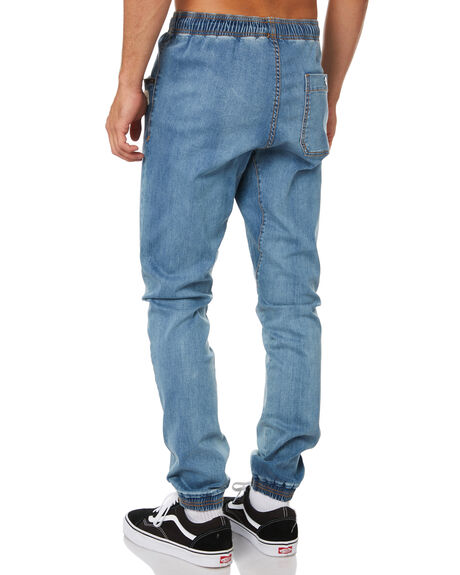 BLUE WASH MENS CLOTHING RUSTY PANTS - PAM1037BUW