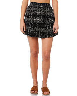 BLACK OUTLET WOMENS RIP CURL SKIRTS - GSKCX10090
