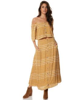 PRINT WOMENS CLOTHING ZULU AND ZEPHYR SKIRTS - ZZ1558PRI