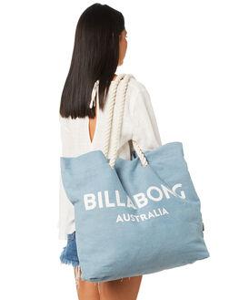 BLUE DENIM WOMENS ACCESSORIES BILLABONG BAGS + BACKPACKS - 6681101ABLU
