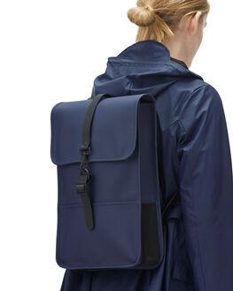 BLUE MENS ACCESSORIES RAINS BAGS + BACKPACKS - RNS1280BLU