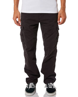 WASHED BLACK MENS CLOTHING RIP CURL PANTS - CPADC18264