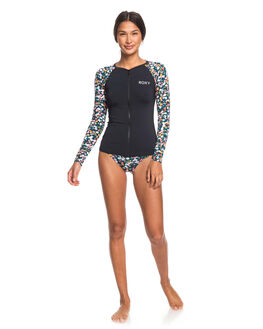 ANTHRACITE BOUQUET BOARDSPORTS SURF ROXY WOMENS - ERJWR03356-KVJ8
