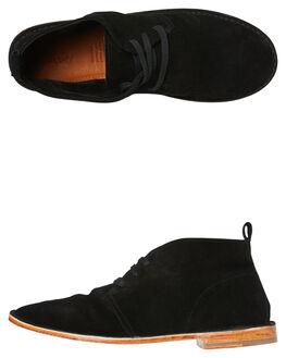 BLACK SUEDE MENS FOOTWEAR URGE BOOTS - URG17237BSDE