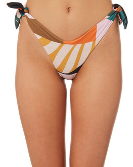 FORBODE WOMENS SWIMWEAR SKYE AND STAGHORN BIKINI BOTTOMS - SS124-AFOR
