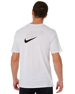 WHITE MENS CLOTHING NIKE TEES - AA8065100