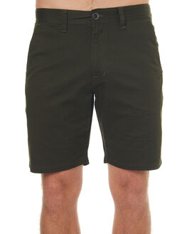 DARK GREEN MENS CLOTHING VOLCOM SHORTS - A0931602DKG