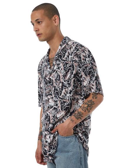 BLACK MENS CLOTHING ZANEROBE SHIRTS - 308-LYKMBLK