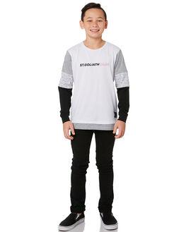 BLACK KIDS BOYS BILLABONG PANTS - 8595351BLK