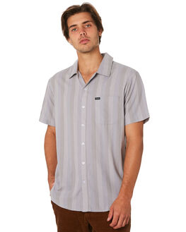 ALUMINUM MENS CLOTHING BRIXTON SHIRTS - 01098ALGRY