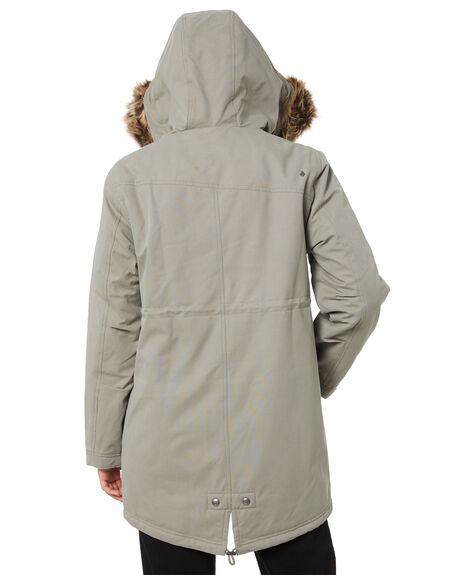 GREEN TEA WOMENS CLOTHING VOLCOM JACKETS - B1732051GRT
