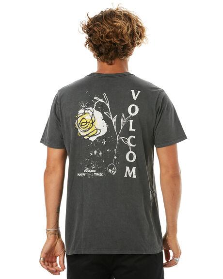 BLACK MENS CLOTHING VOLCOM TEES - A5241702BLK