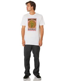 BLACK MENS CLOTHING VOLCOM PANTS - A1231902BLK