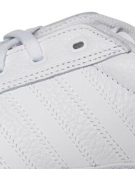 WHITE WHITE MENS FOOTWEAR ADIDAS SKATE SHOES - CG5635WHI