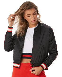 BLACK OUTLET WOMENS THE UPSIDE JACKETS - UPL1851BLK