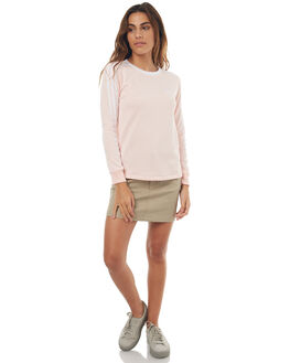 ICEY PINK WOMENS CLOTHING ADIDAS ORIGINALS TEES - BP9432IPNK