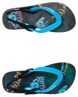 BLUE KIDS BOYS RIP CURL FOOTWEAR - TKTEOOT0070