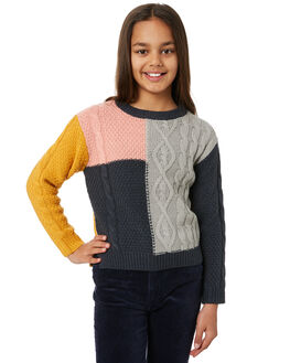 MULTI COLOUR KIDS GIRLS EVES SISTER JUMPERS + JACKETS - 9550064MULT