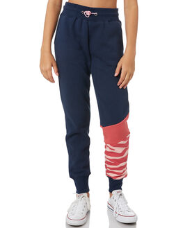 NAVY HOLLY BERRY KIDS GIRLS EVES SISTER PANTS - 9550038NAVY