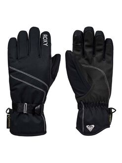 TRUE BLACK BOARDSPORTS SNOW ROXY GLOVES - ERJHN03145-KVJ0