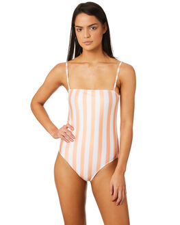 COPPER TAN STRIPE OUTLET WOMENS AFENDS ONE PIECES - W184712CPR
