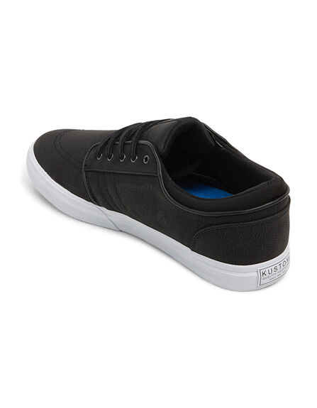 BLACK MENS FOOTWEAR KUSTOM SNEAKERS - KS-K901114-BLK