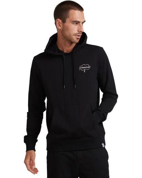 FLINT BLACK MENS CLOTHING ELEMENT JUMPERS - EL-G517305-IFL