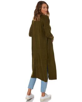 KHAKI WOMENS CLOTHING SILENT THEORY KNITS + CARDIGANS - 8330041KHAK