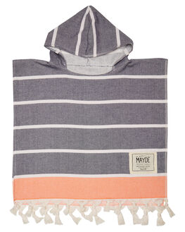 NAVY ORANGE KIDS TODDLER BOYS MAYDE TOWELS - 18SHELNOR