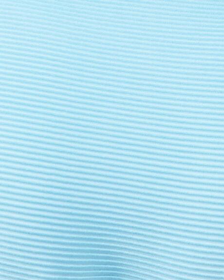 HORIZON BLUE WOMENS SWIMWEAR RVCA BIKINI TOPS - RV-R408808-HBU