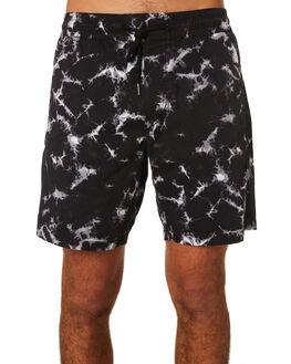 NEW BLACK MENS CLOTHING VOLCOM SHORTS - A1031802NBK