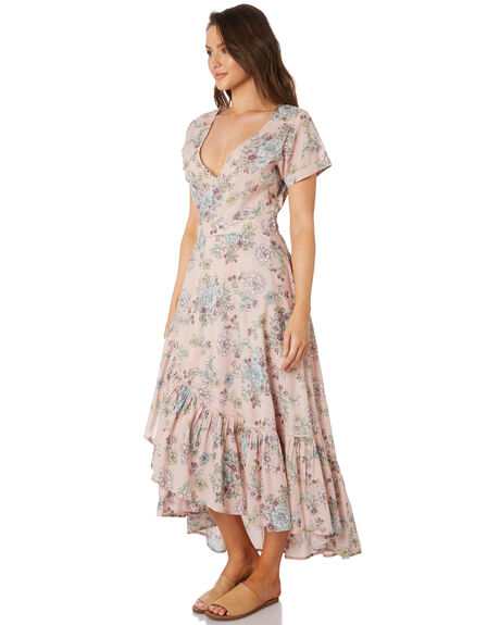 BLUSH FLORAL OUTLET WOMENS O'NEILL DRESSES - 5321606BFL