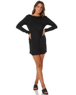 BLACK WOMENS CLOTHING BILLABONG DRESSES - 6585474BLACK