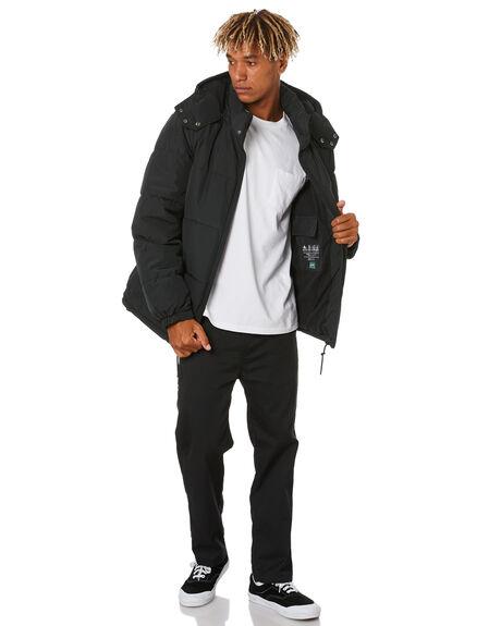 BLACK MENS CLOTHING VOLCOM JACKETS - A1731914BLK