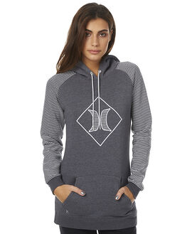 HEATHER GRAPHITE WOMENS CLOTHING HURLEY JUMPERS - AGFLROY7H07F