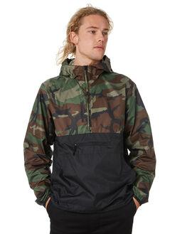 MEDIUM OLIVE MENS CLOTHING NIKE JACKETS - BQ3455222